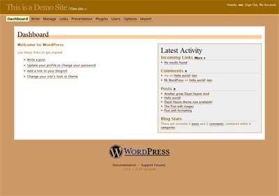 Dapit Hapon Admin screenshot