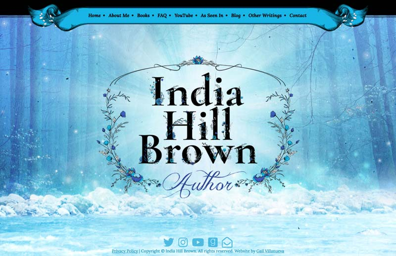 India Hill Brown